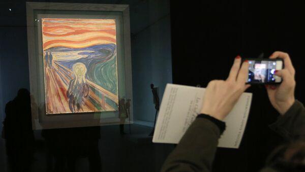 Edvard Munch'ün Çığlık tablosu - Sputnik Türkiye