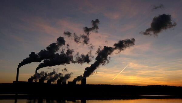Elektrik santrali - Çevre kirliliği - Fabrika - Sputnik Türkiye