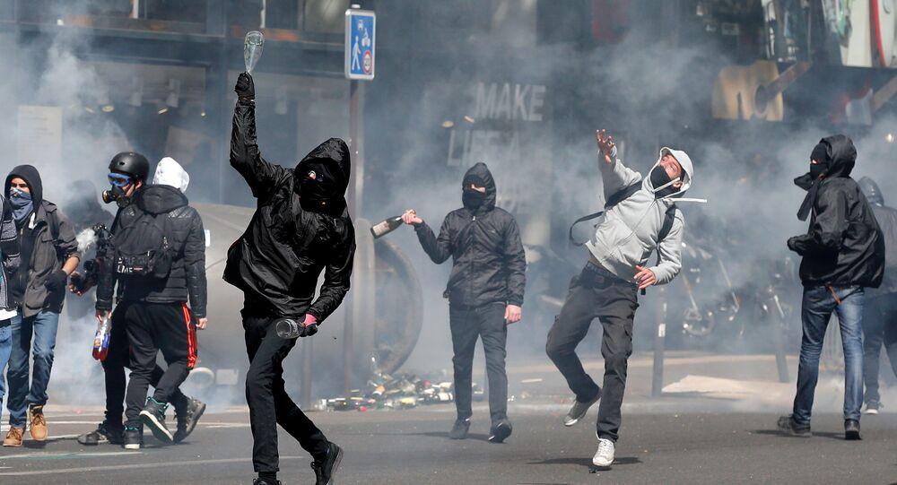 Fransa'da protestolar
