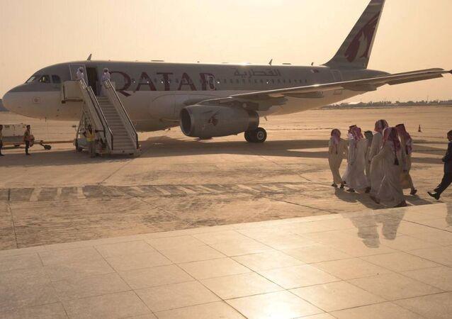 Irak'ta serbest kalan Katar vatandaşları