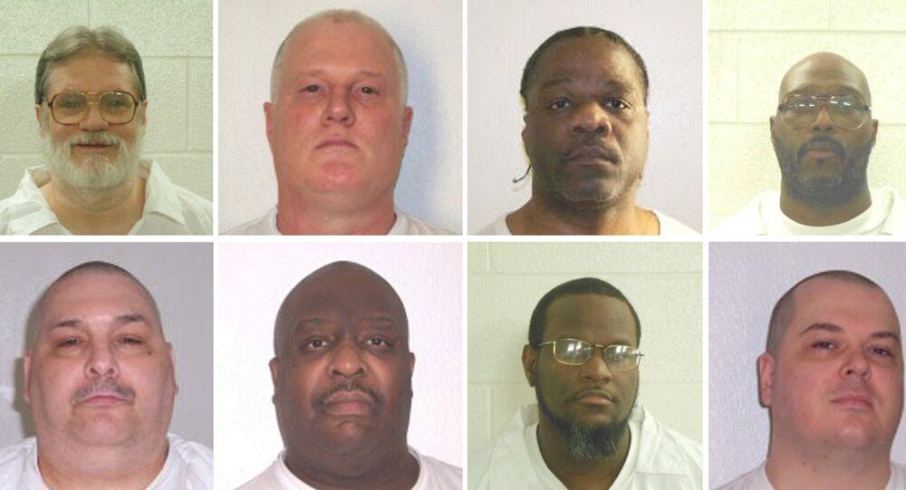 Arkansas'ta idam edileceği açıklanan 8 mahkum