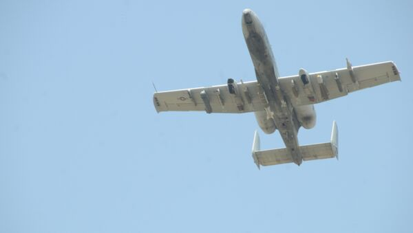 Türkiye-Suriye sınırında uçuş yapan koalisyon uçakları - Sputnik Türkiye