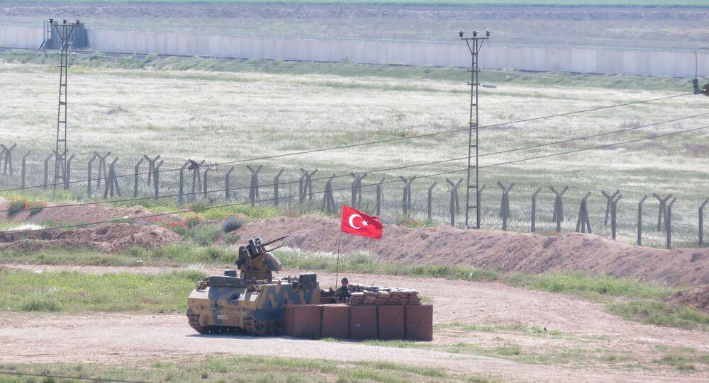 TSK, Türkiye-Suriye sınırına konuşlu