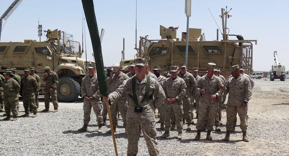 Afganistan'ın Helmand vilayetindeki ABD askerleri
