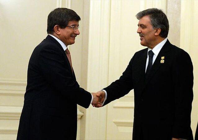 11. Cumhurbaşkanı Abdullah Gül ve eski Başbakan Ahmet Davutoğlu
