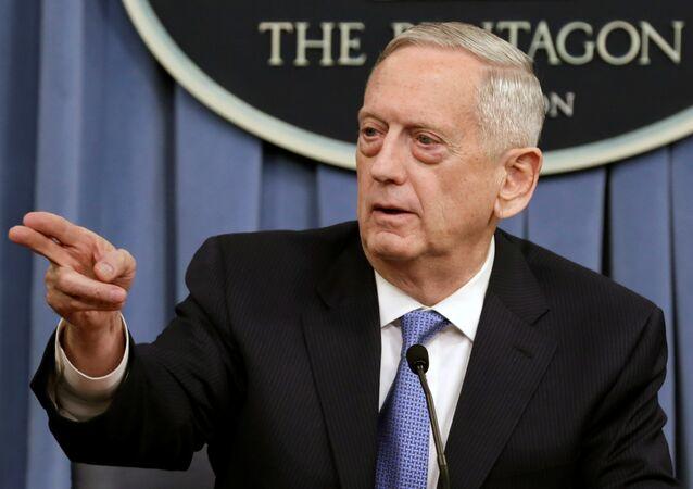 ABD Savunma Bakanı James Mattis