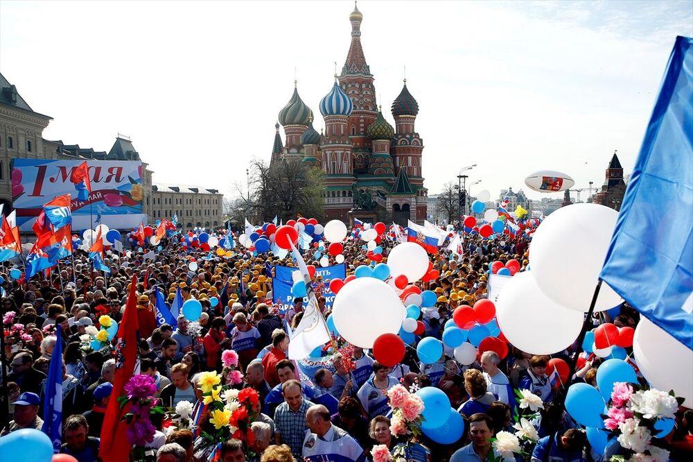 Moskova'da 1 Mayıs