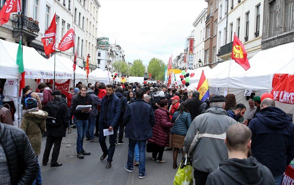 Belçika'da 1 Mayıs