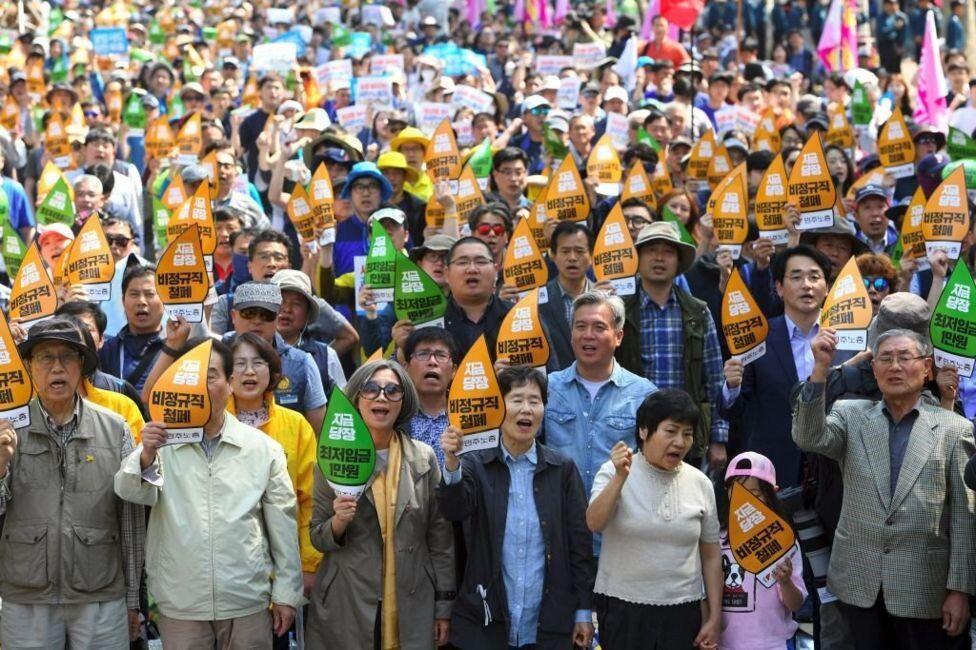 Güney Kore'de 1 Mayıs