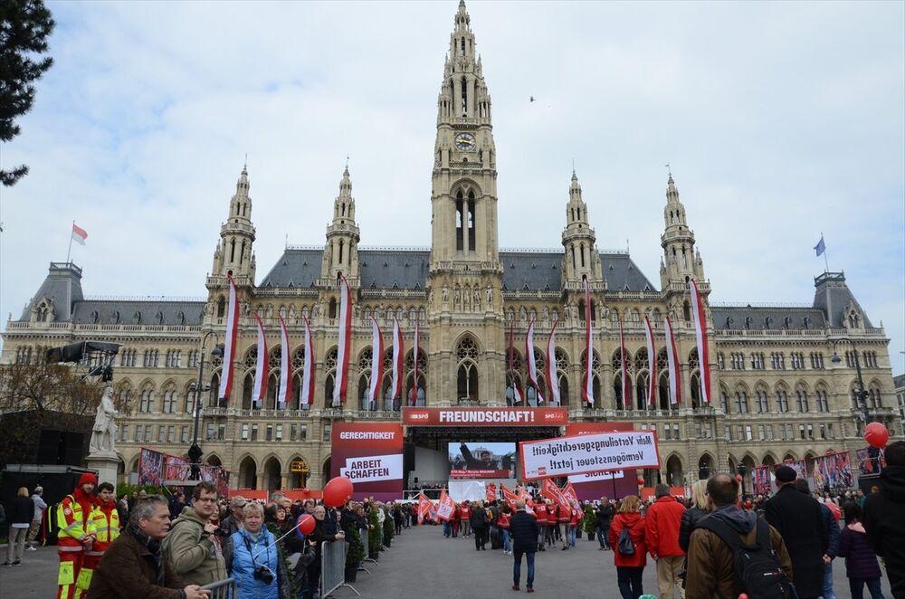 Avusturya'da 1 Mayıs