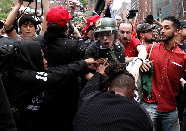 New York'ta 1 Mayıs eylemleri