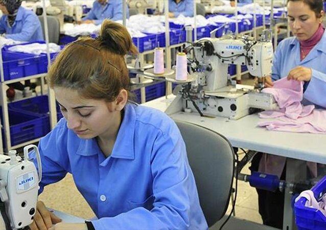 Çalışan kadın