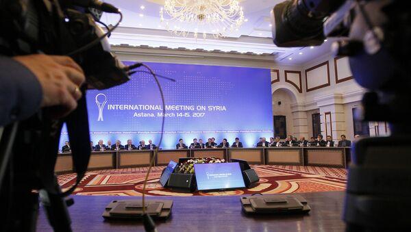 Astana görüşmeleri - Sputnik Türkiye