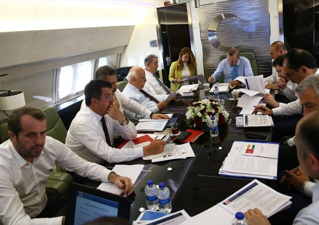 Cumhurbaşkanı Recep Tayyip Erdoğan'ın Hindistan uçağı