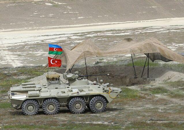 Türkiye ve Azerbaycan'dan ortak tatbikat