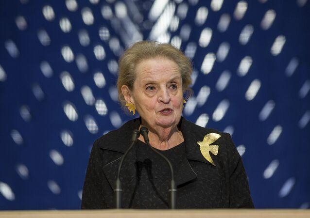 Former Secretary of State Madeleine Albright  (File)