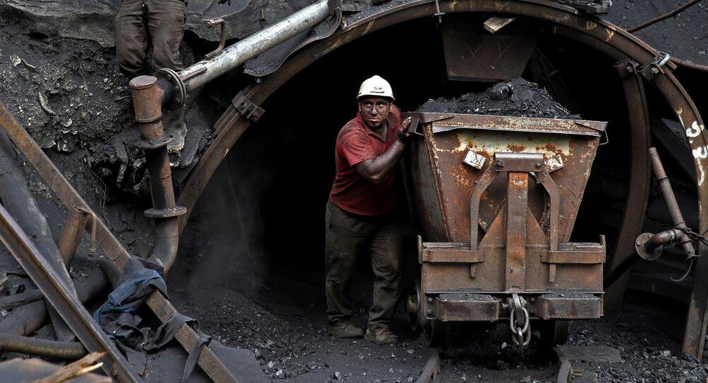 İranlı madenci