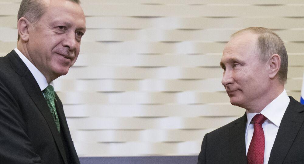 Erdoğan ve Putin, Soçi'de görüştü