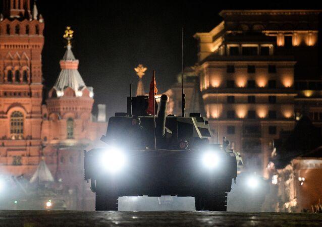 T-14 Armata tankı.