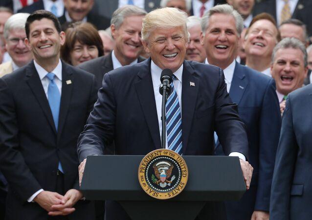 ABD Başkanı Donald Trump ve Cumhuriyetçi vekiller