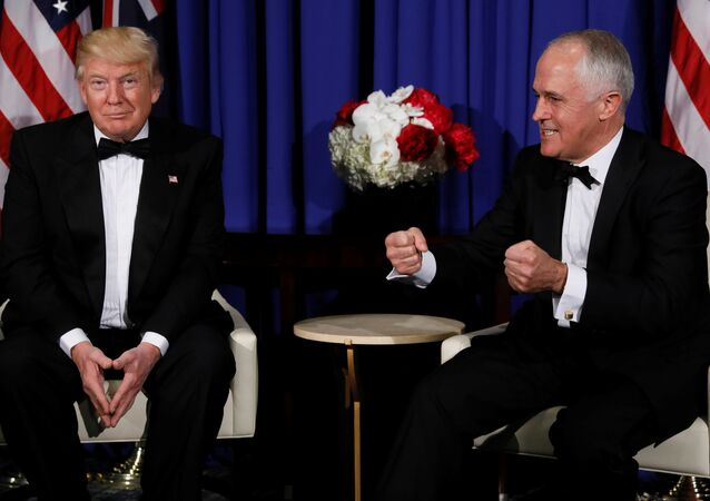 Donald Trump - Malcolm Turnbull