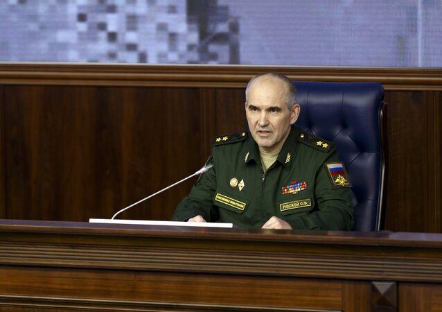 Rusya Genelkurmay Başkanlığı yetkilisi Sergey Rudskoy