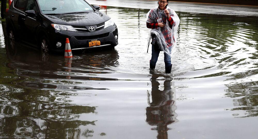 ABD'de sel baskınları