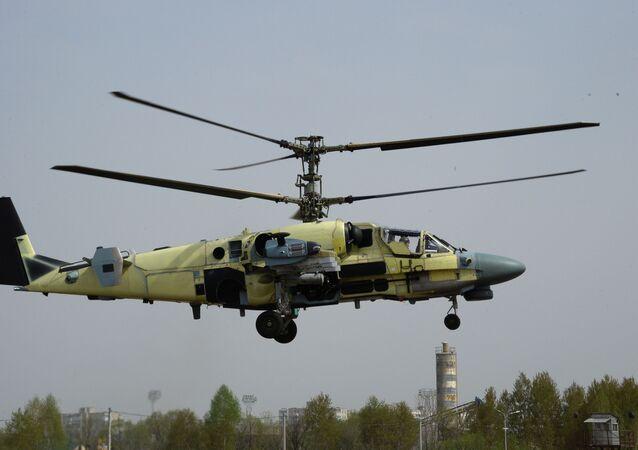 Ka-50 Siyah Köpekbalığı modelinin geliştirilmiş bir modifikasyonudur.