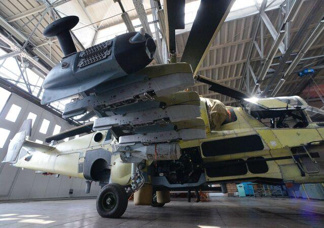 Ka-52, savaş sahasında zırhlı ve zırhsız araçları, insan gücünü ve hava hedeflerini imha etme kabiliyetine sahip.