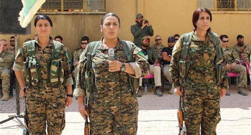 ABD askerleri - YPG
