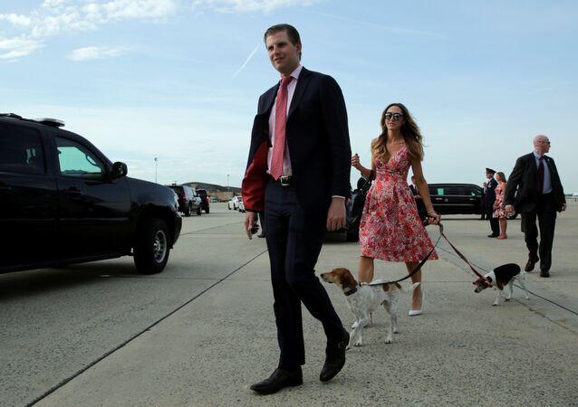 ABD Başkanı Donald Trump'ın oğlu Eric Trump