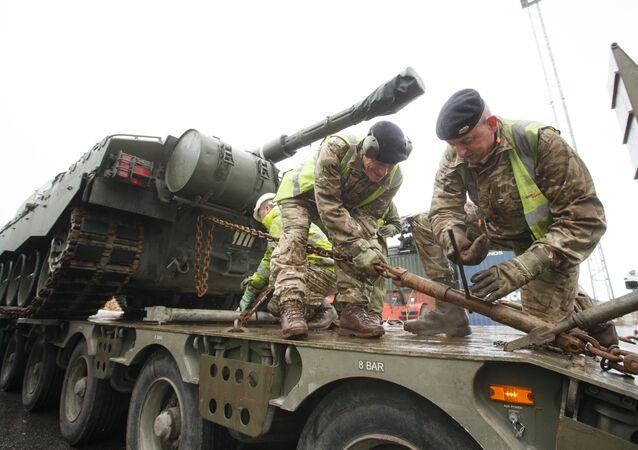NATO Estonya'da tatbikata başladı