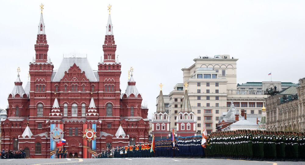 Moskova/ 72. Zafer Günü kutlamaları