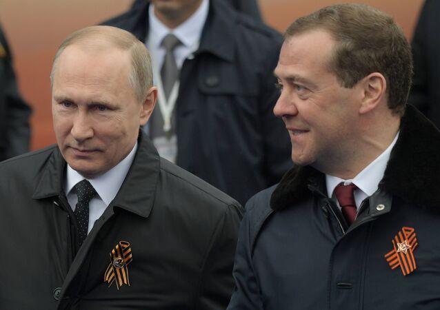 Vladimir Putin - Dmitriy Medvedev