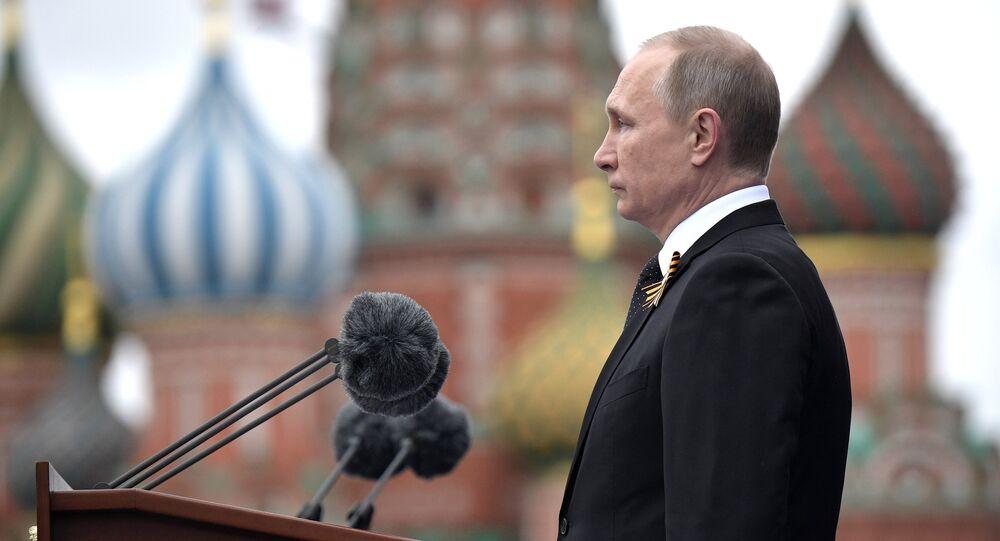Rusya Devlet Başkanı Vladimir Putin / Zafer Günü kutlaması