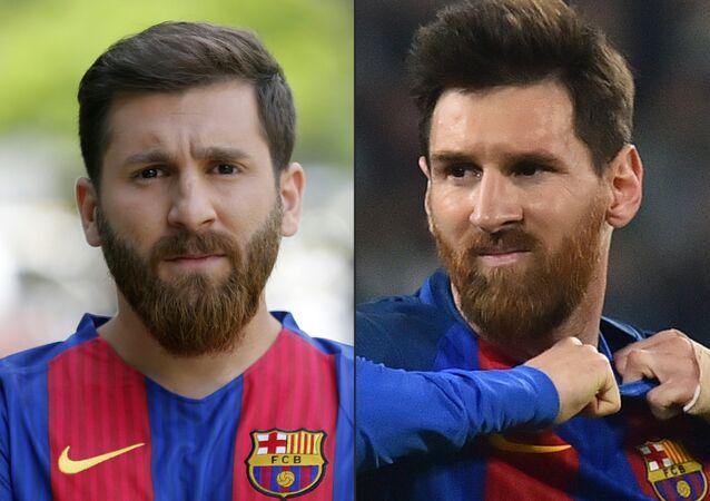 Reza Parastesh ve Lionel Messi