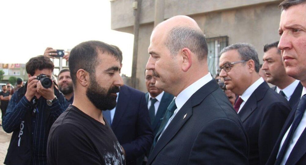 İçişleri Bakanı Süleyman Soylu -  Panzerin çarparak girdiği evde 2 çocuğu ölen Yıldırım Ailesi