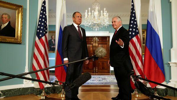 Sergey Lavrov - Rex Tillerson - Sputnik Türkiye