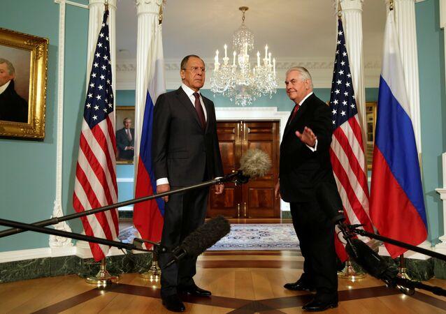 Sergey Lavrov - Rex Tillerson