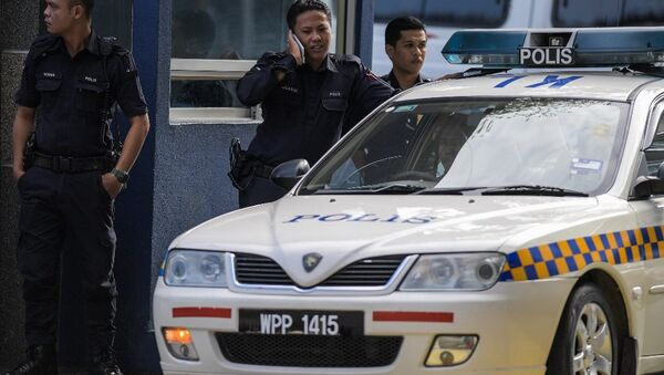 Malezya polisi - Sputnik Türkiye