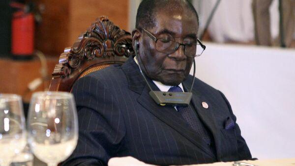 Robert Mugabe - Sputnik Türkiye