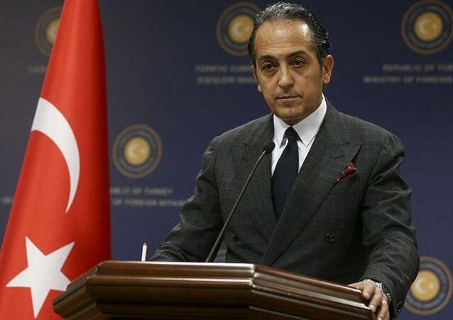 Dışişleri Bakanlığı Sözcüsü Büyükelçi Hüseyin Müftüoğlu