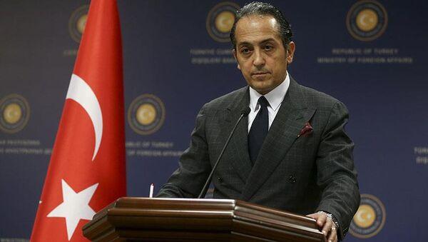 Dışişleri Bakanlığı Sözcüsü Büyükelçi Hüseyin Müftüoğlu - Sputnik Türkiye