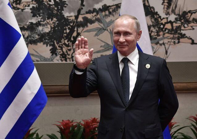 Rusya Devlet Başkanı Vladimir Putin / Yunanistan