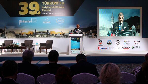 Türk Girişim ve İş Dünyası Konfederasyonu (TÜRKONFED) Başkanı Tarkan Kadooğlu - Sputnik Türkiye