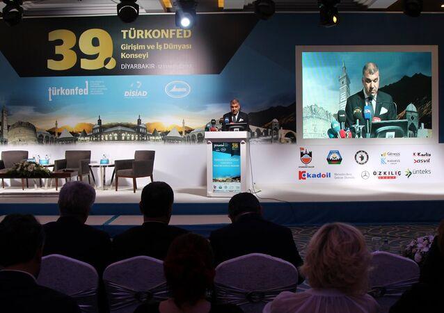 Türk Girişim ve İş Dünyası Konfederasyonu (TÜRKONFED) Başkanı Tarkan Kadooğlu