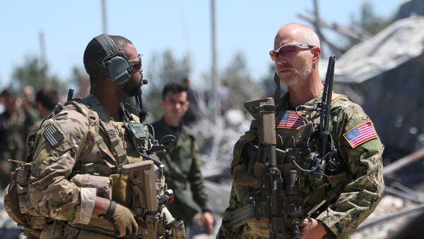 ABD askeri ve YPG - Sputnik Türkiye