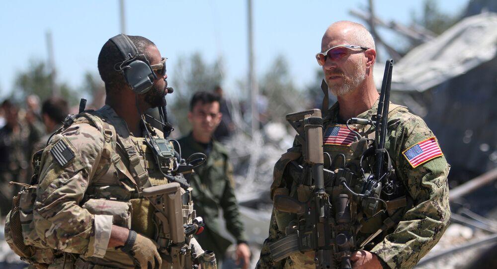 ABD askeri ve YPG