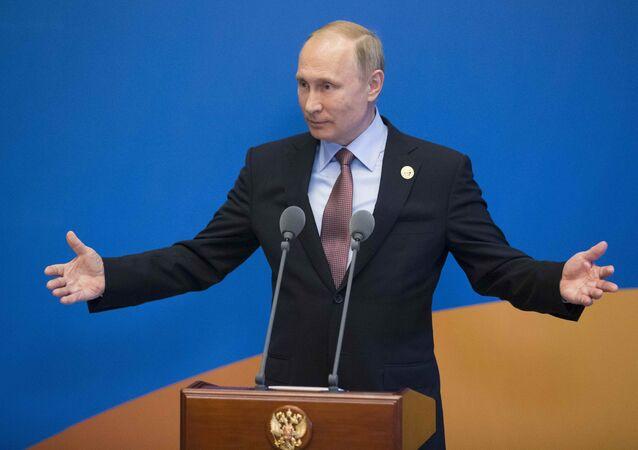 Vladimir Putin / Kuşak ve Yol Forumu