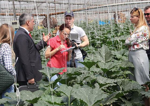 Rus tarım heyeti Antalya'da